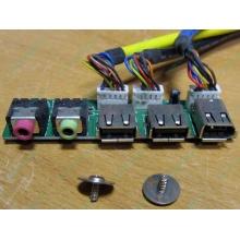 Панель передних разъемов (audio в Волгограде, USB в Волгограде, FireWire) для корпуса Chieftec (Волгоград)