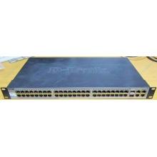 Управляемый коммутатор D-link DES-1210-52 48 port 10/100Mbit + 4 port 1Gbit + 2 port SFP металлический корпус (Волгоград)