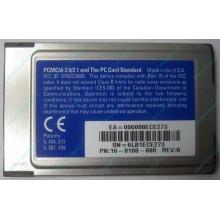 Сетевая карта 3COM Etherlink III 3C589D-TP (PCMCIA) без LAN кабеля (без хвоста) - Волгоград